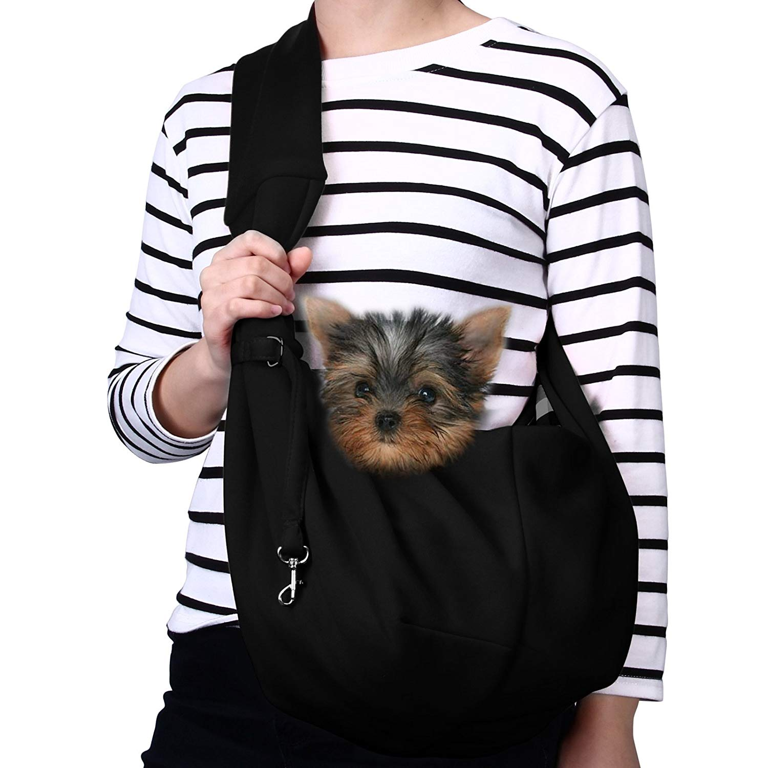 TOMKAS Small Dog and Cat Carrying Sling